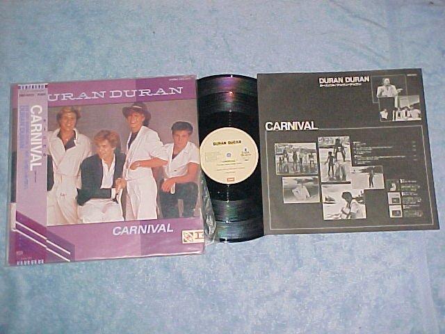 """DURAN DURAN-CARNIVAL-VG+/NM 1982 Japan 12""""EP-Obi,Insert"""