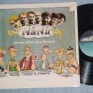 MANU--KALTE PLATTE--NM/VG++ 1989 Germany LP on Erlkonig