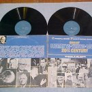 GREAT MOMENTS, VOICES, MUSIC OF THE 20th CENTURY-Dbl LP