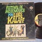 FESTIVAL DE MERENGUES POR LUIS KALAFF--Stereo 1963 LP