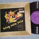 "(NAT) KING COLE TRIO--VOL 3--10"" VG+ 1950 LP-Capitol 59"