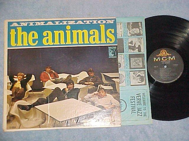 THE ANIMALS--ANIMALIZATION--1966 Capitol Record Club LP