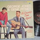 GEORGE JONES AND GENE PITNEY-IT'S COUNTRY TIME AGAIN-LP