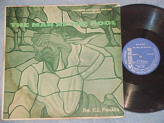 C.L FRANKLIN-THE MAN AT THE POOL-'72 LP-Chess Sermon 26
