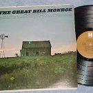 THE GREAT BILL MONROE--VG+ 1969 Reissue LP on Harmony