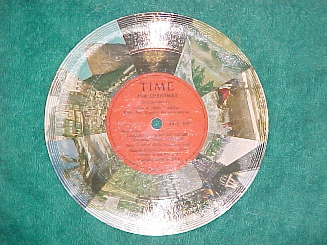 "Cardboard 6"" LLP--TIME FOR CHRISTMAS--Time Magazine--NM"