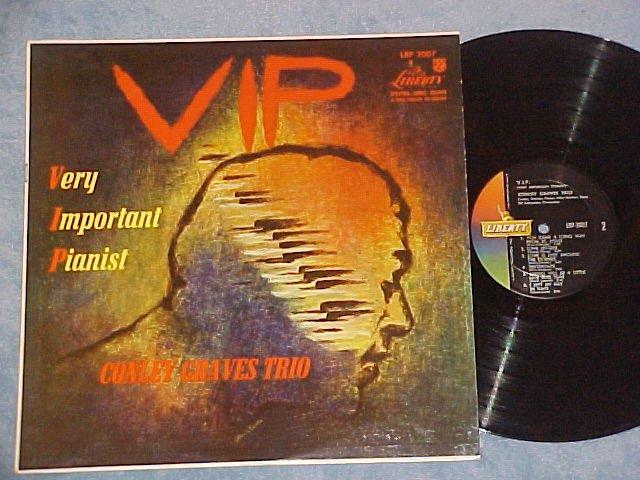 CONLEY GRAVES TRIO-V.I.P.(VERY IMPORTANT PIANIST)-NM LP