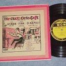 "D Hyman/J Fina/M DiNapoli--CRAZY OTTO CAFE--10"" 1955 LP"