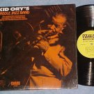 KID ORY'S CREOLE JAZZ BAND--NM shrink 1975 Folklyric LP