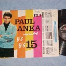 PAUL ANKA SINGS HIS BIG 15--VOL. 3--VG++ Mono 1962 LP