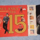 PAUL ANKA SINGS HIS BIG 15-Vol 1--VG++/VG+ Mono 1959 LP