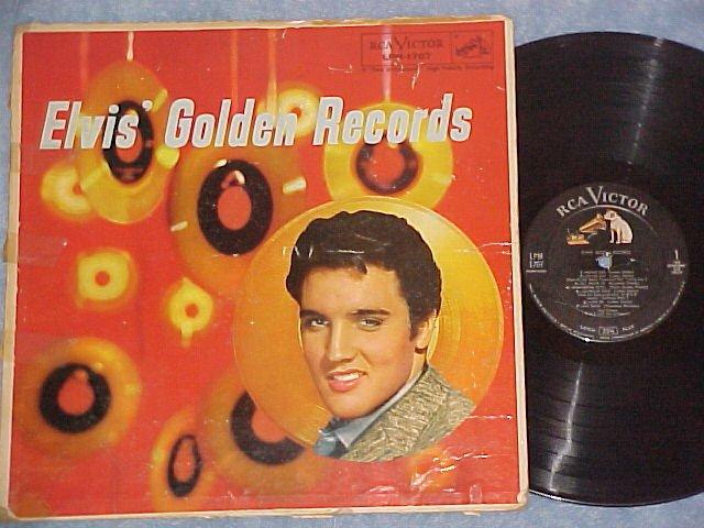 ELVIS PRESLEY-ELVIS' GOLDEN RECORDS-1959 LP-2nd Prsg-#1