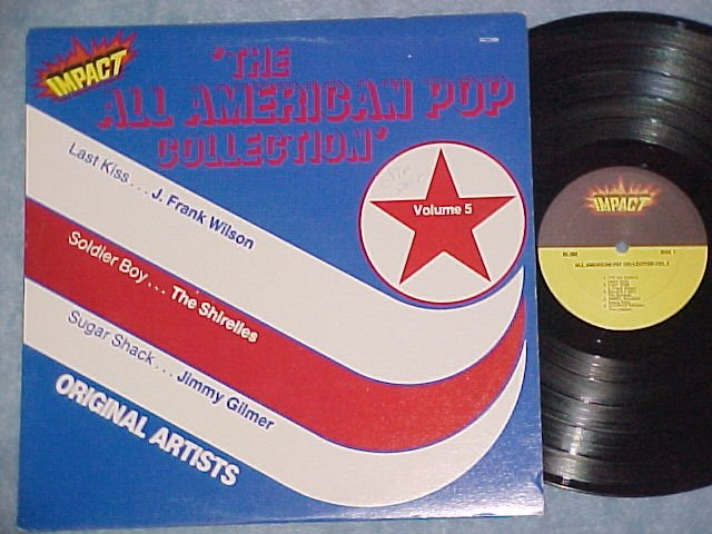 THE ALL AMERICAN POP COLLECTION--Vol 5--NM/VG++ 1980 LP