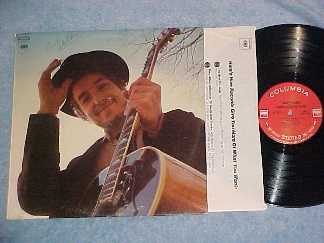 BOB DYLAN--NASHVILLE SKYLINE--1969 LP--360 Sound label