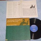 BARRY HALL-VIRTUOSO 5-STRING BANJO-Folkways LP w/Insert