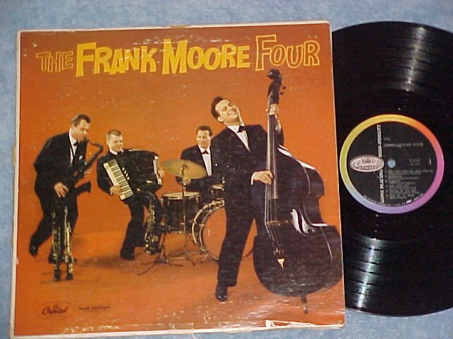 THE FRANK MOORE FOUR-Self Titled '59 LP-Capitol 1127 (4