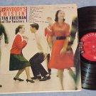 STAN FREEMAN-EVERYBODY'S TWISTIN-VG++/VG+ 1960 Promo LP