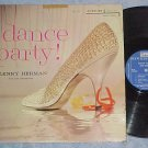 LENNY HERMAN ORCHESTRA--DANCE PARTY!-1957 LP--Riverside