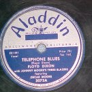 78--FLOYD DIXON--TELEPHONE BLUES--1950--Aladdin 3075