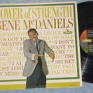 GENE McDANIELS--TOWER OF STRENGTH--VG/VG++ Mono 1962 LP
