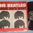 THE BEATLES--A HARD DAY'S NIGHT--VG Mono 1964 Sdk LP