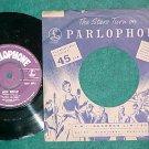45-PETER USTINOV-MOCK MOZART--UK--1953--Parlophone 6012