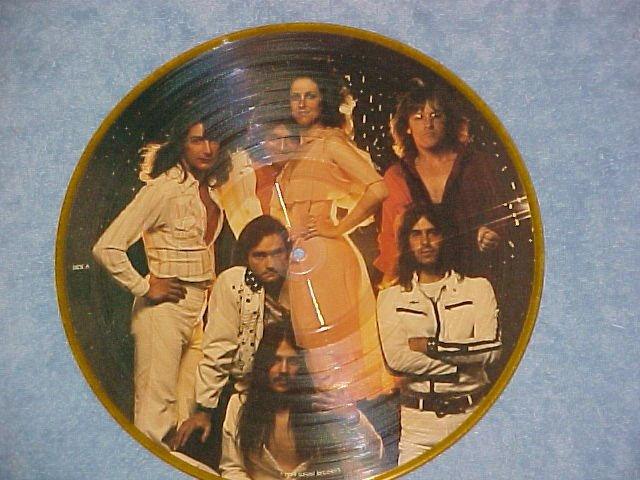 JEFFERSON STARSHIP--GOLD--NM 1979 Picture Disc LP