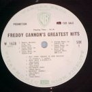 FREDDY CANNON'S GREATEST HITS--NM LP--WL Promo ~No Jkt~