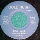45-GOLD RUSH-PALISADES PARK-1980-Private-Albany,NY--VG+