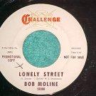 45-BOB MOLINE--LONELY STREET--Challenge 59300--WL Promo