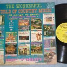 WONDERFUL WORLD OF COUNTRY MUSIC-1964 Cmpltn Starday LP