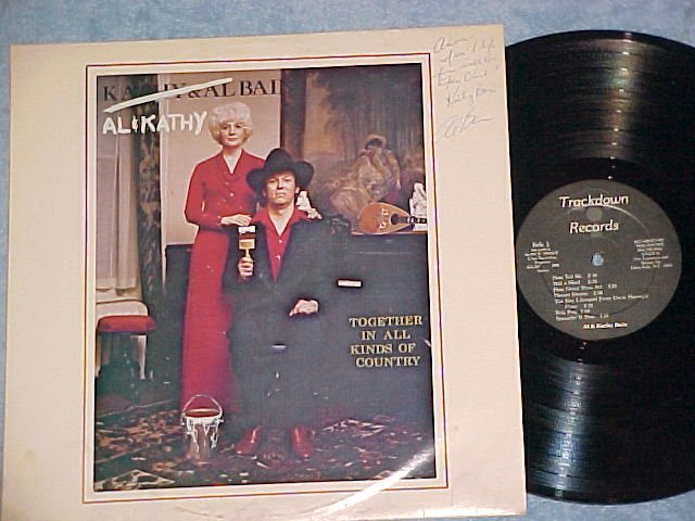 AL AND KATHY BAIN--TOGETHER IN ALL KINDS OF COUNTRY--LP