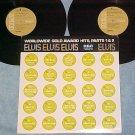 ELVIS PRESLEY-WORLDWIDE GOLD AWARD HITS-Parts 1&2--2LPs