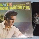 ELVIS PRESLEY-PARADISE, HAWAIIAN STYLE-Mono 1966 Sdk LP