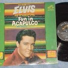 ELVIS PRESLEY--FUN IN ACAPULCO--Mono 1963 Soundtrack LP