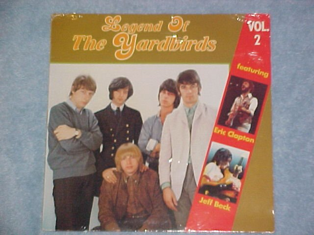 LEGEND OF THE YARDBIRDS--Vol. 2--Mint Sealed Germany LP