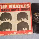 THE BEATLES--A HARD DAY'S NIGHT--Mono 1964 Sdk LP