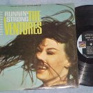 THE VENTURES--RUNNIN' STRONG--VG+ 1966 LP on Sunset