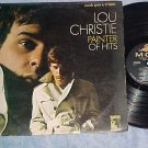 LOU CHRISTIE--PAINTER OF HITS--NM/VG+ Stereo 1966 LP