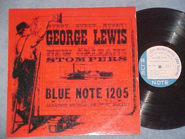 GEORGE LEWIS/N. O. STOMPERS-V 1-Blue Note LP-Lex Ave-DG