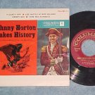 EP w/PS--JOHNNY HORTON MAKES HISTORY--Vol. II--Columbia
