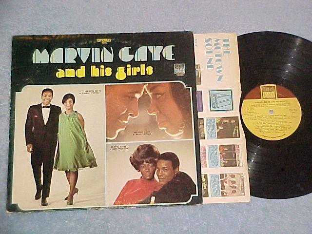 MARVIN GAYE AND HIS GIRLS--NM/VG+ 1969 LP--Tamla TS-293