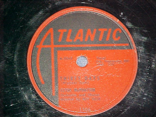 78-CLYDE McPHATTER-THIRTY DAYS--1956--Atlantic 1106--VG