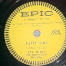 78--SAL MINEO--PARTY TIME--1957--Epic 9246--VG
