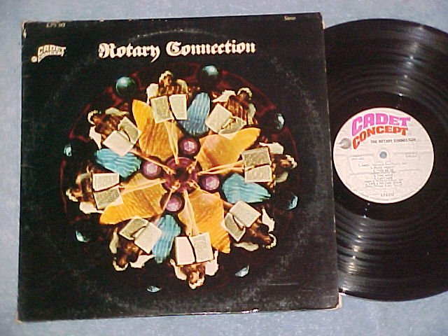 THE ROTARY CONNECTION-Self Titled 1968 LP-Cadet Concept