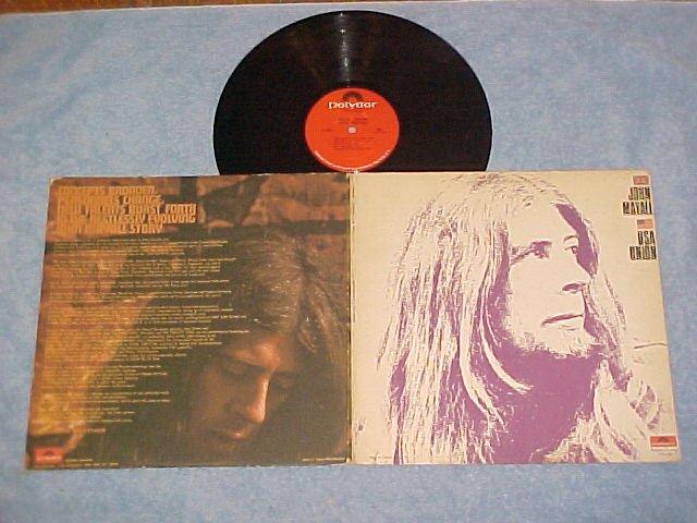 JOHN MAYALL--USA UNION--VG+ 1970 LP--Polydor 24-4022