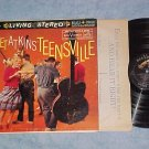 CHET ATKINS' TEENSVILLE-VG/VG+ Stereo 1960 1st Press LP