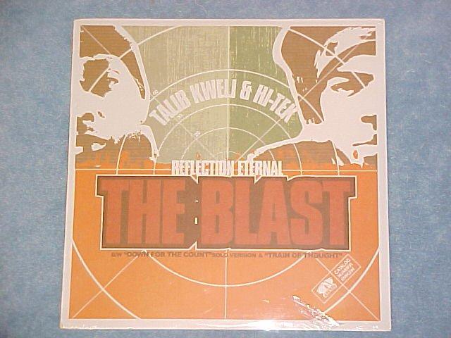"TALIB KWELI AND HI-TEK--THE BLAST--Sealed 2000 12"" Sgl"