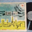 EDITH PIAF--Self Titled VG+ 1958 LP--Columbia ML-4779