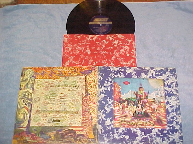 ROLLING STONES-THEIR SATANIC MAJESTIES--VG++/VG+ LP--3D